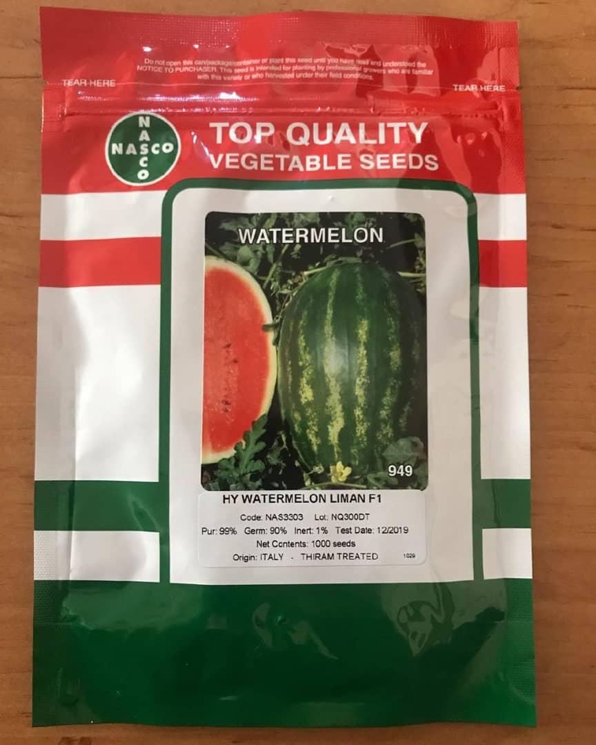 بذر هندوانه لیمان F1 محصول شرکت ناسکو
